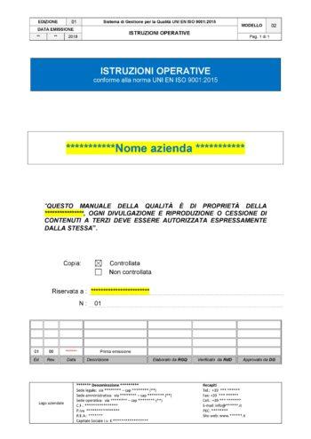02 Istruzioni ISO 9001